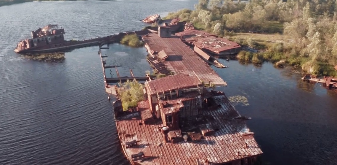 Video of the week - Abandoned Chernobyl town caught on drone