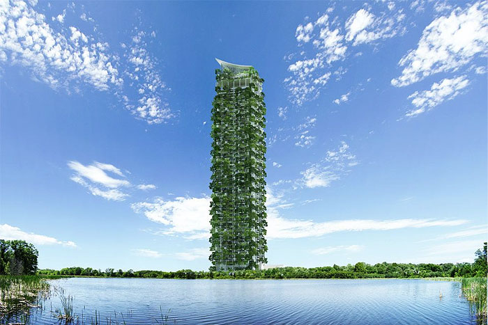 World's tallest vertical garden sprouts in Sri Lanka