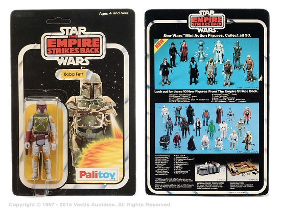 Star Wars toy sells for £18k