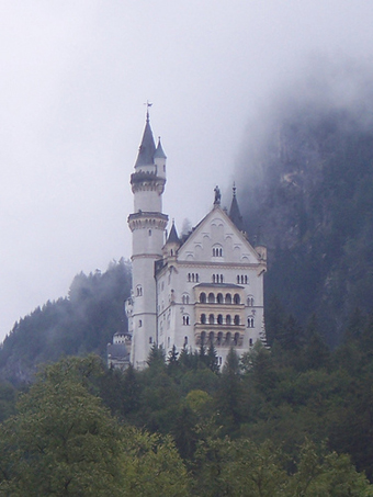 Neuschwanstein Castle, Disney