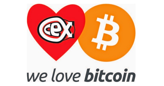 Bitcoin accepted by electronics retailer CeX