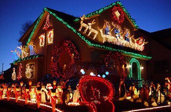 Top 10 most extravagant Christmas decorations