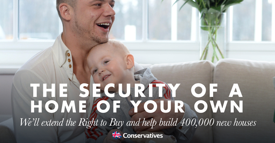 Conservatives pledge to extend Right to Buy