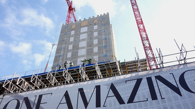 UK construction hits 20-year high