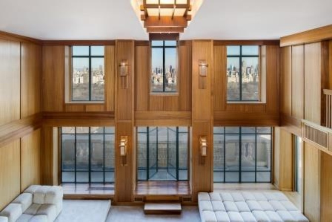 Demi Moore lists Central Park penthouse