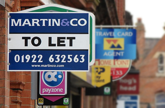UK rents up £62 from last summer