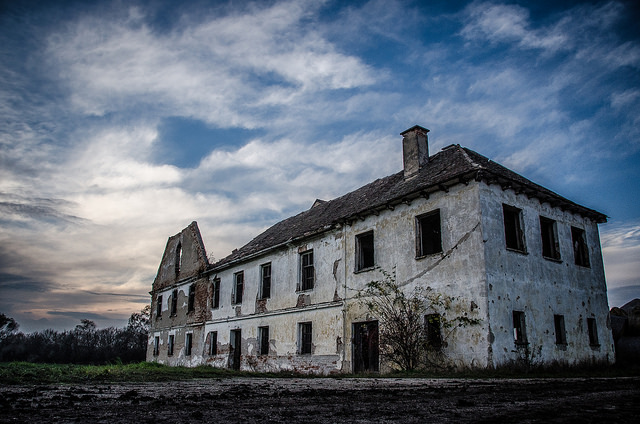 Haunted house? Be afraid of falling prices