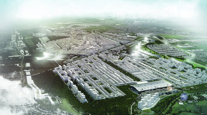 Proposed designs for Heathrow City unveiled