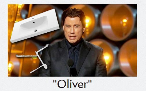Solved? The meaning behind John Travolta's Adele Dezeem-speak