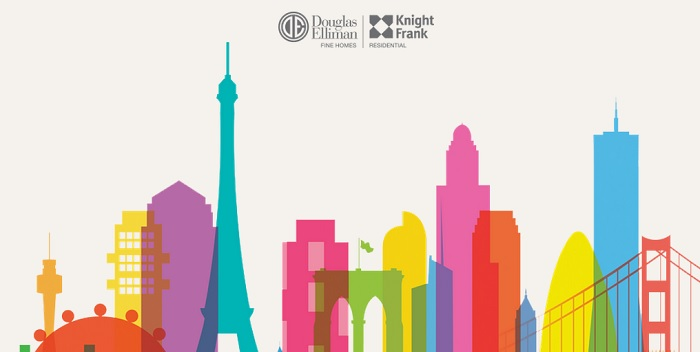 Knight Frank Residential and Douglas Elliman team up