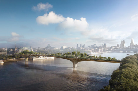 Lambeth Council approves London's garden bridge