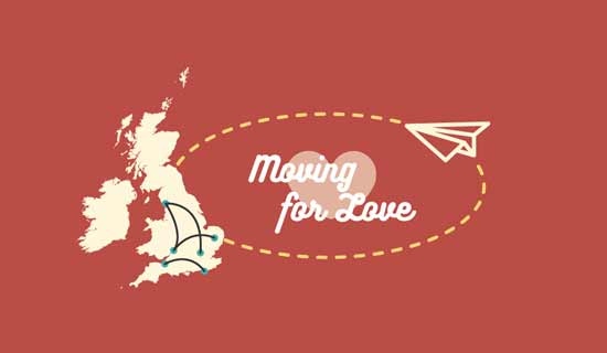 Infographic: Women more likely to move for love