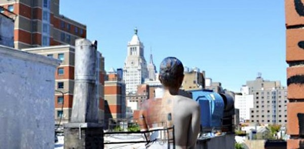 Photo of the Week: Models painted to blend into landmarks