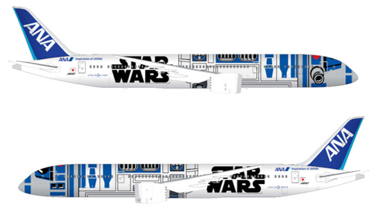 Japanese airline introduces Star Wars plane