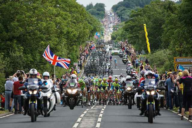 Tourism de Yorkshire: Tour de France brings millions to the dales
