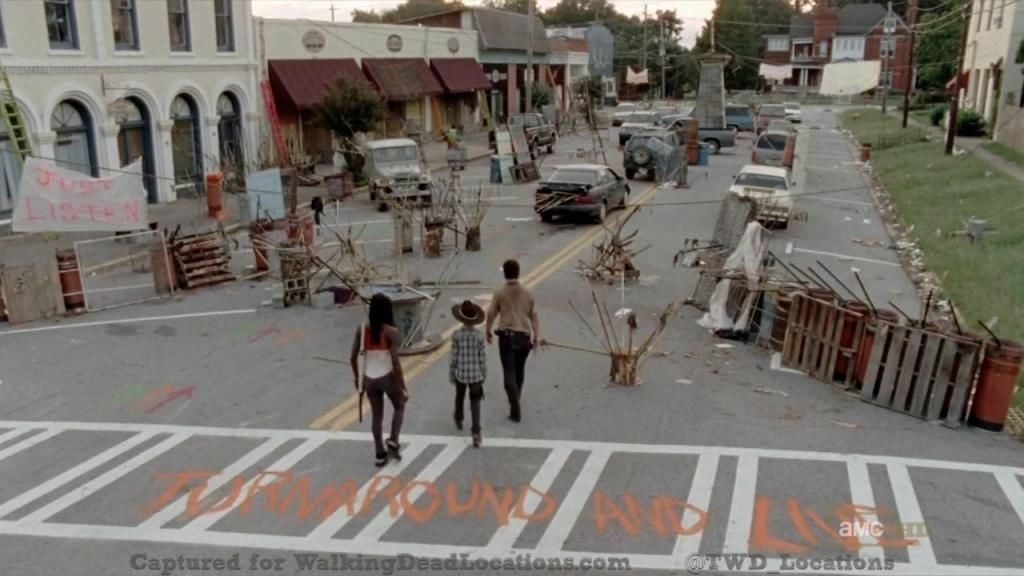 Town featured in The Walking Dead shuffles onto eBay