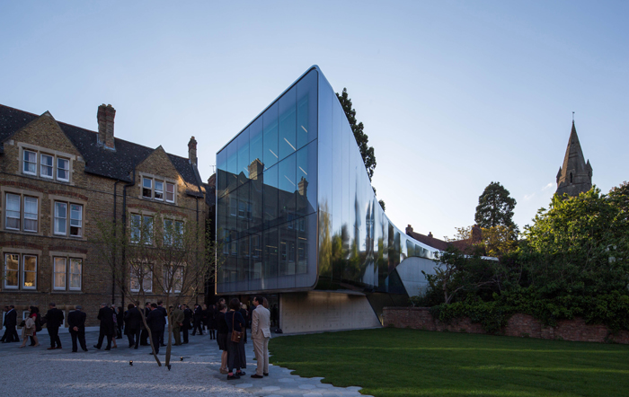 Photo of the Week: Zaha's invisible Oxford Uni extension