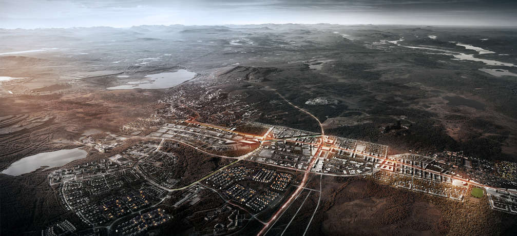 Architects move entire Swedish town 2 miles
