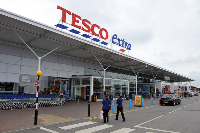 Tesco to build 4,000 homes