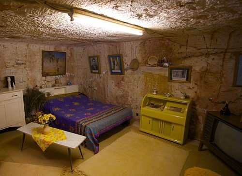Down Under down under: Inside the world's only underground town