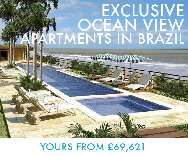 Exclusive Ocean View Apartments in Brazil. Yours from �69,621