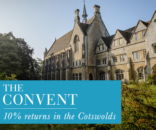 The Convent. 10% returns in the Cotswolds.