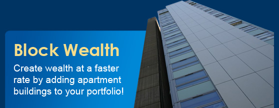 Create Wealth Faster By Adding Apartment Buildings To Your Portfolio