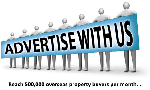Advertise with us - reach 500,000 overseas property buyers per month