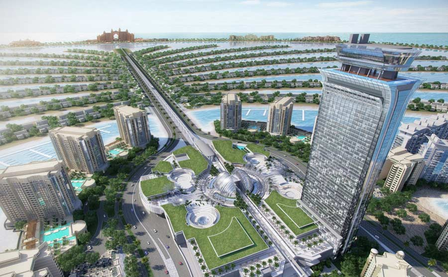 Nakheel's The Palm Tower, which will boast Dubai's highest swimming pool