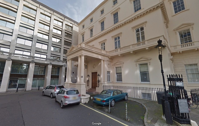 Revealed the world 39 s most expensive homes for 18 carlton house terrace